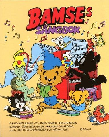 bokomslag Bamses sångbok
