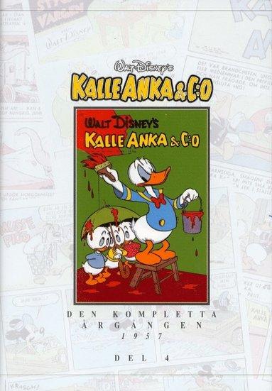 bokomslag Kalle Anka & C:o. Den kompletta årgången 1957. D. 4