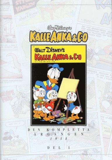bokomslag Kalle Anka & C:o. Den kompletta årgången 1958. D. 1