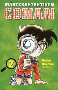 bokomslag Mästerdetektiven Conan 02