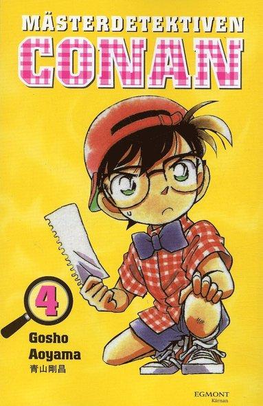 bokomslag Mästerdetektiven Conan 04