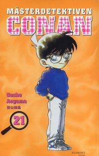 bokomslag Mästerdetektiven Conan 21