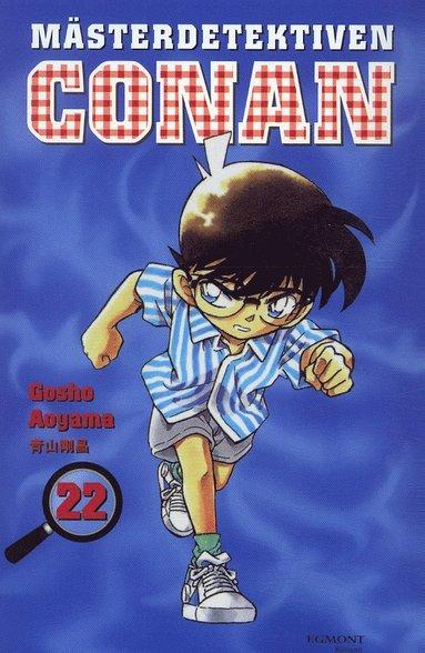 bokomslag Mästerdetektiven Conan 22