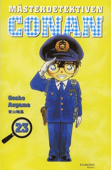 bokomslag Mästerdetektiven Conan 23
