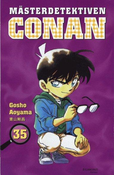 bokomslag Mästerdetektiven Conan 35