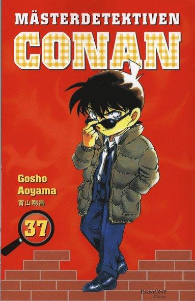 bokomslag Mästerdetektiven Conan 37