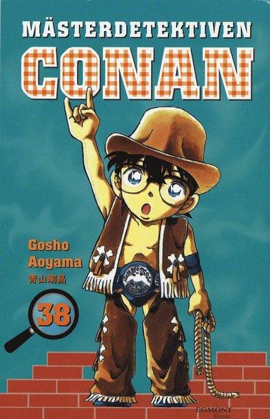 bokomslag Mästerdetektiven Conan 38