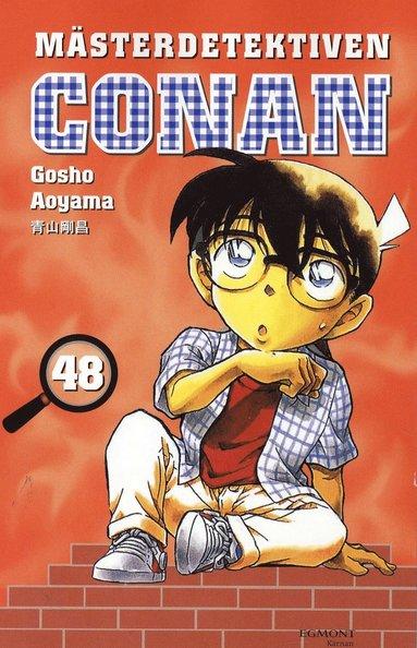 bokomslag Mästerdetektiven Conan 48