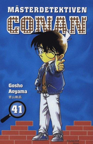 bokomslag Mästerdetektiven Conan 41