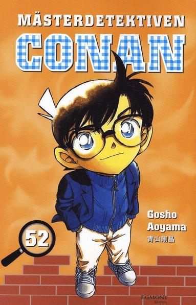 bokomslag Mästerdetektiven Conan 52