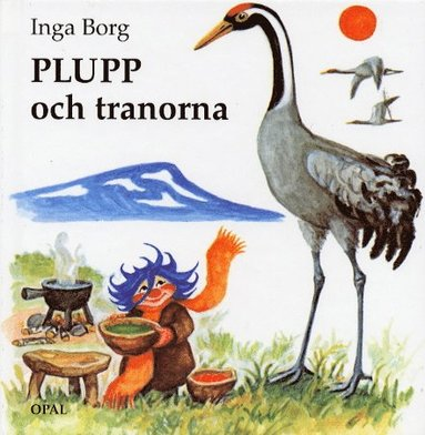 bokomslag Plupp och tranorna