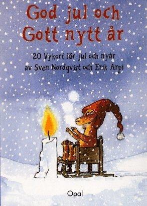 bokomslag Julkort God Jul Gott Nytt År 20 vykort