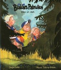 bokomslag Blåbärspatrullen söker en skatt