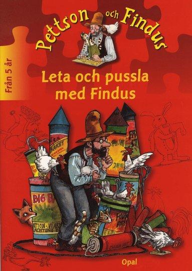 bokomslag Leta och pussla med Findus