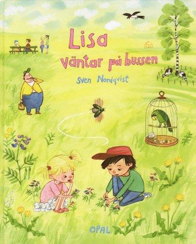 bokomslag Lisa väntar på bussen