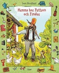 bokomslag Hemma hos Pettson och Findus