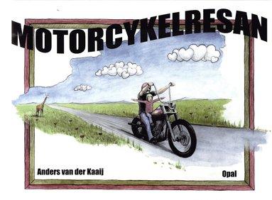 bokomslag Motorcykelresan