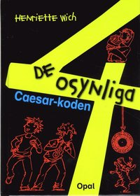 bokomslag De osynliga 4. Caesar-koden