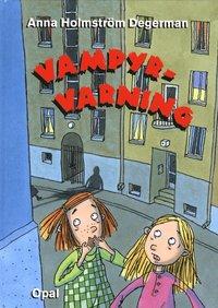 bokomslag Vampyr-varning