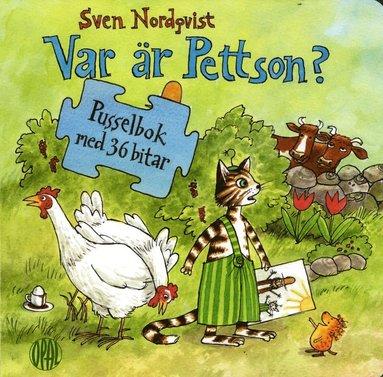 bokomslag Var är Pettson? : pusselbok med 36 bitar