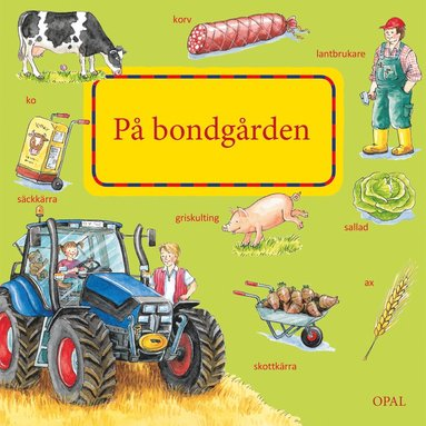 bokomslag På bondgården