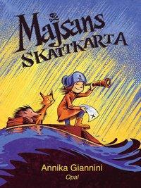 bokomslag Majsans skattkarta