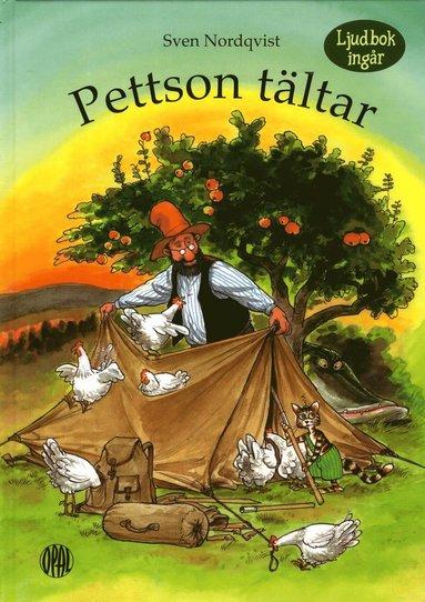 bokomslag Pettson tältar. inkl cd