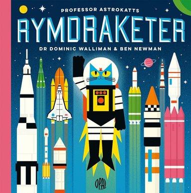 bokomslag Professor Astrokatts rymdraketer