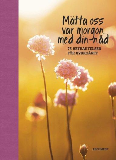 bokomslag Mätta oss var morgon med din nåd : 75 betraktelser för kyrkoåret