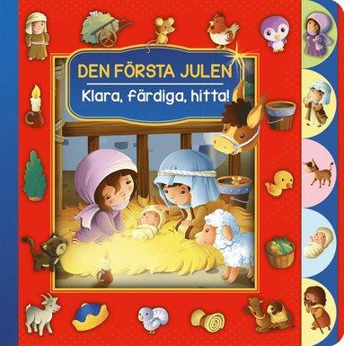 bokomslag Den första julen - Klara, färdiga, hitta!