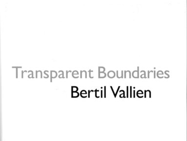 bokomslag Transparant Boundaries