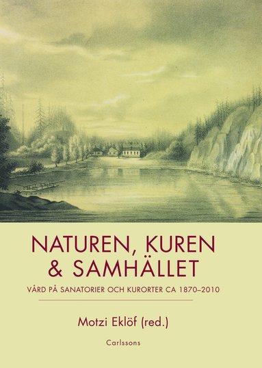 bokomslag Naturen, kuren & samhället : vård på sanatorier och kurorter ca 1870-2010
