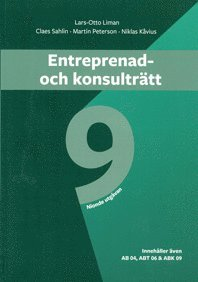 bokomslag Entreprenad- och konsulträtt. Utg 9