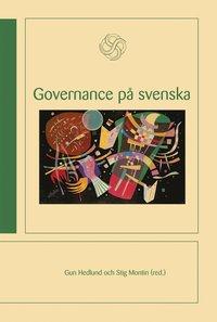 bokomslag Governance på svenska