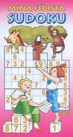 bokomslag Mina första sudoku, röd