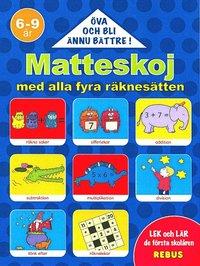 bokomslag 60193: Matteskoj med alla fyra räknesätten