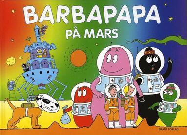 bokomslag Barbapapa på Mars