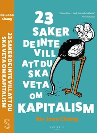 bokomslag 23 saker de inte vill att du ska veta om kapitalism