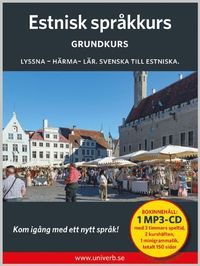 bokomslag Estnisk språkkurs. Grundkurs