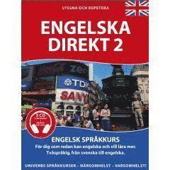 bokomslag Univerb Engelska Direkt 2