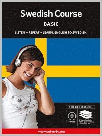 bokomslag Swedish course, Basic MP3CD