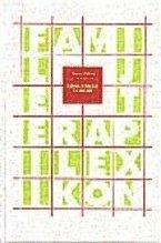 bokomslag Familjeterapilexikon : med betoning på systemiska och interaktionistiska idéer