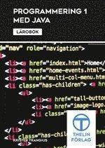 bokomslag Programmering 1 med Java - Lärobok