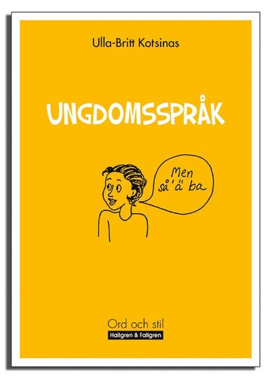 bokomslag Ungdomsspråk