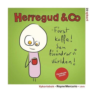 bokomslag Vykortsbok med Herregud & Co
