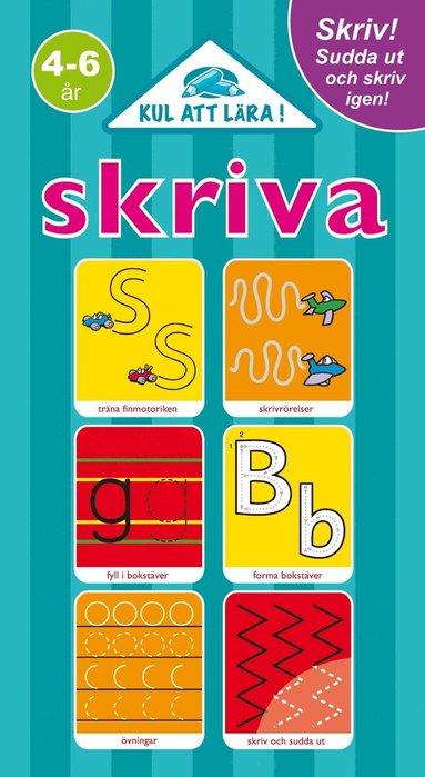 bokomslag Skriva : skriv, sudda ut och skriv igen