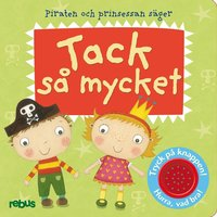 bokomslag Piraten och prinsessan säger tack så mycket