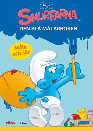 bokomslag 60236: Smurfarna - den blå målarboken