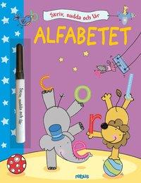 bokomslag Skriv, sudda och lär - Alfabetet