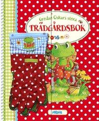 bokomslag Grodan Oskars stora trädgårdsbok